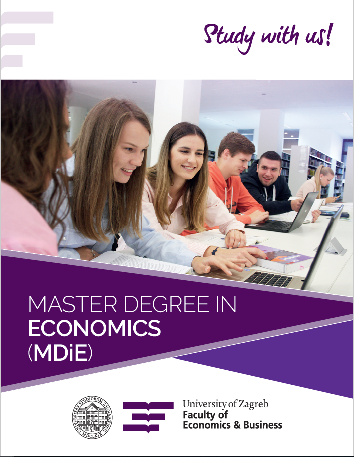 MASTER DEGREE IN ECONOMICS (MDiE)