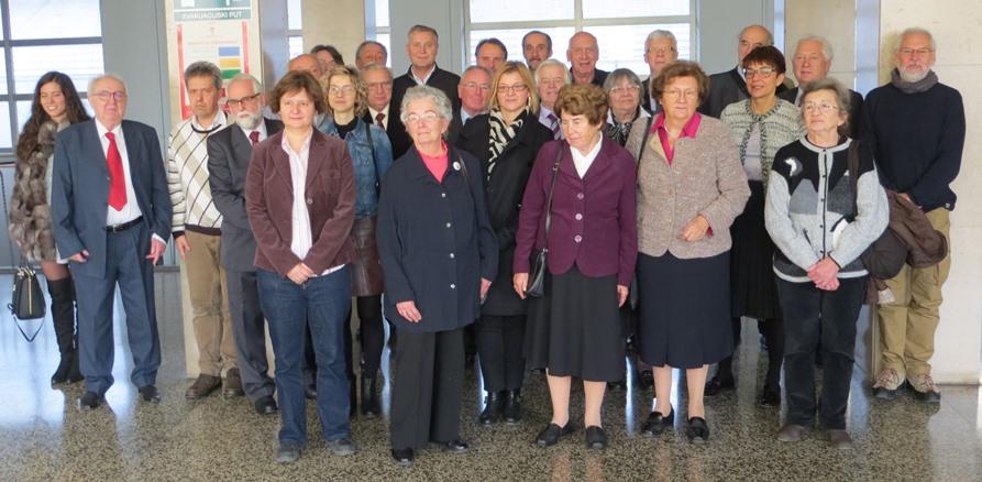 Članovi Seminara i gosti povodom 50. godišnjice Seminara