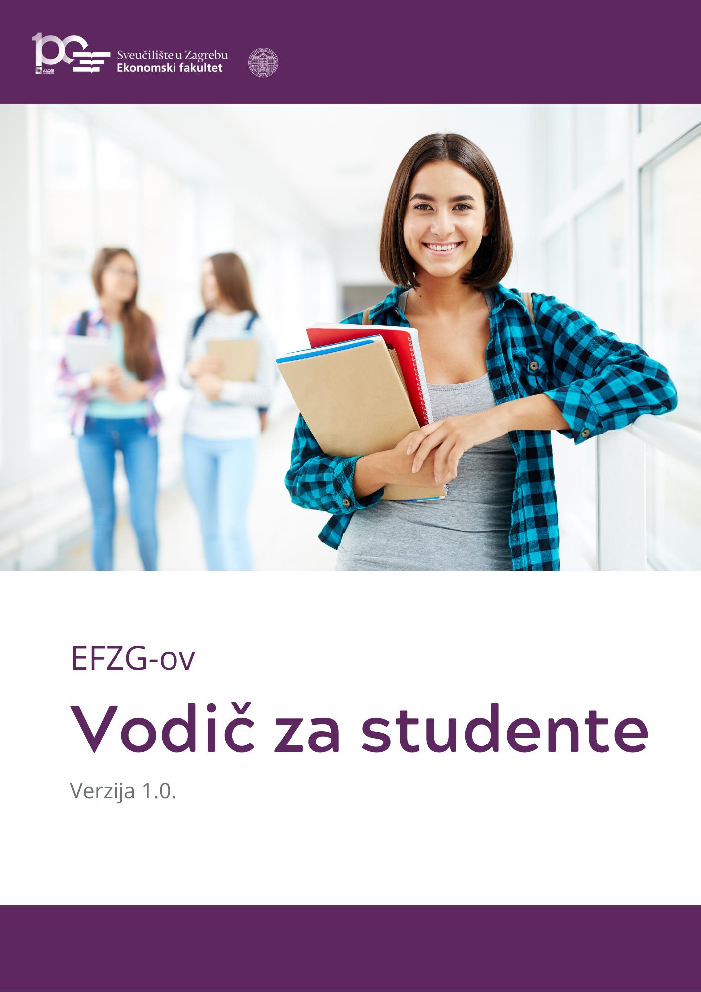Vodic Za Studente Efzg Ekonomski Fakultet Zagreb
