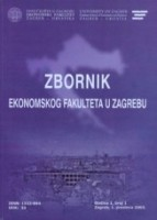 Zbornik Ekonomskog fakulteta u Zagrebu/Proceedings of the Faculty of Economics and Business in Zagreb