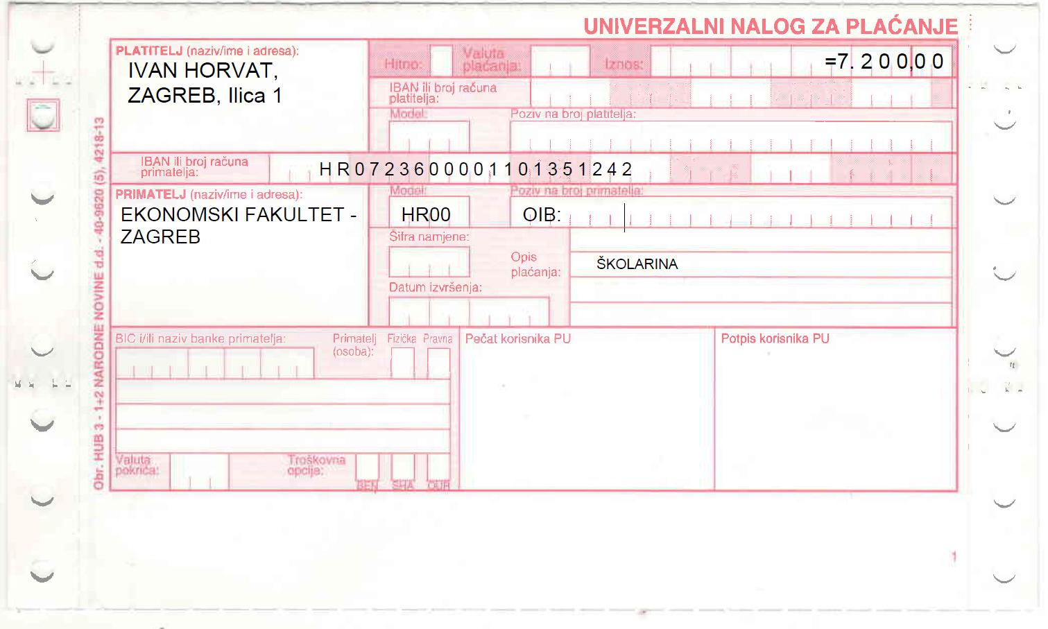 Upis Studenata U Vise Godine Studija Efzg Ekonomski Fakultet Zagreb